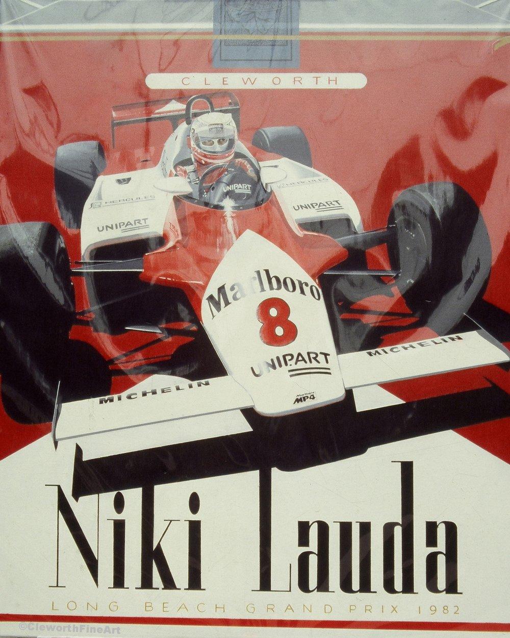 """Niki Lauda Cigarettes"""