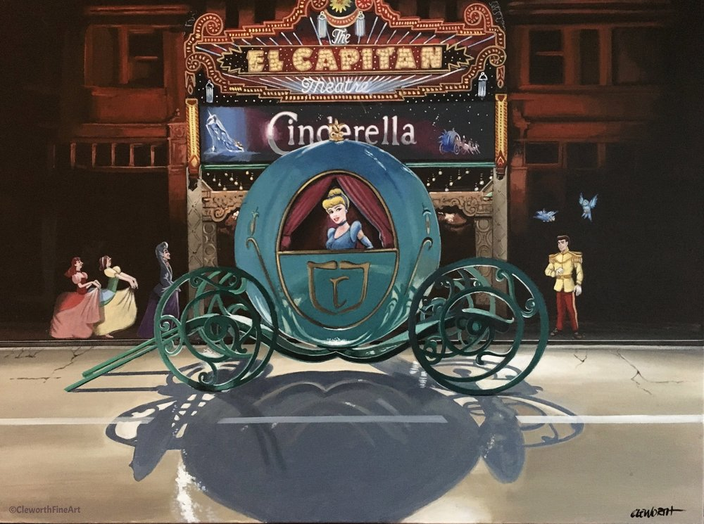 """Cinderella's Hollywood Premier"""