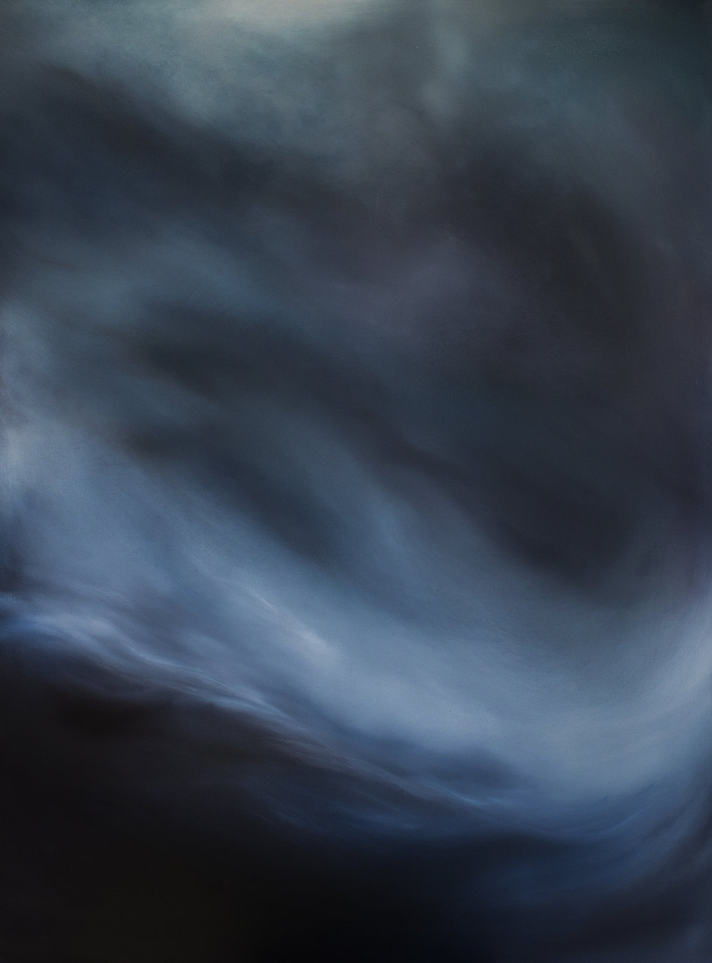 Night Solace II_ 2014. (101.5×131.5cm) Oil on Canvas.jpg