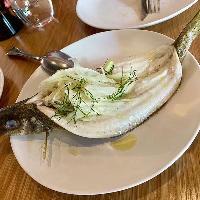 New on our menu: Fresh fish (may be King George whiting or blue mackerel) with warm buckwheat, herb and citrus salad. A refreshingly delicious and healthy option for all you fish lovers. Photo by @vigilantevisits.