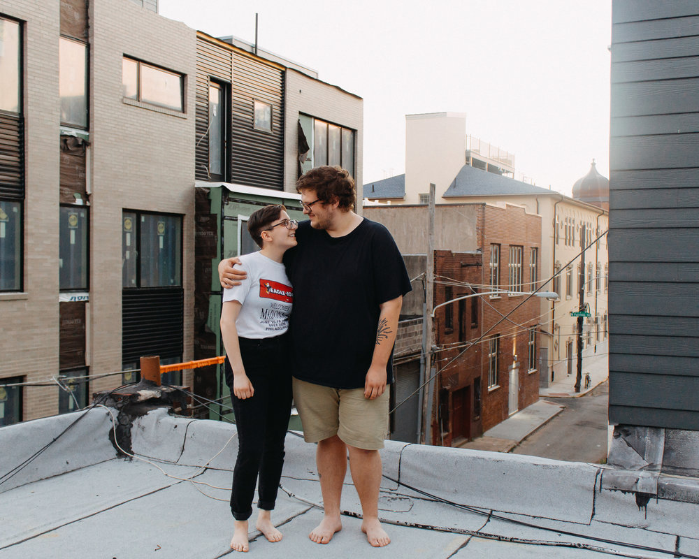 Hailey + Jake - a south philly love story