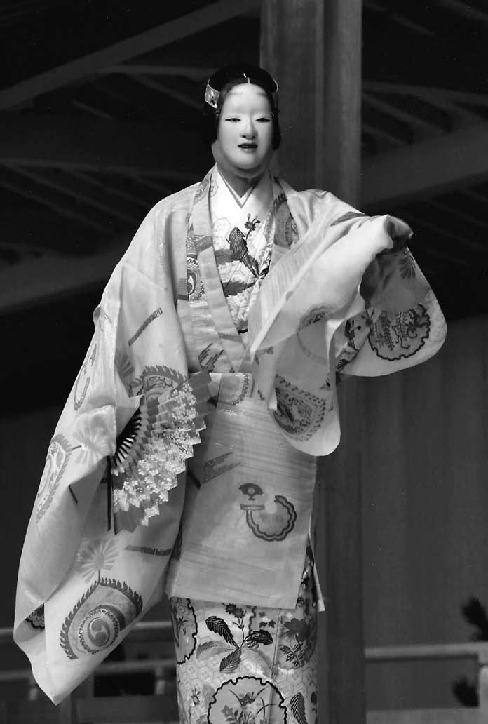 『山姫』 シテ 粟谷能夫(平成30 年3月4日 粟谷能の会) 撮影:吉越 研
