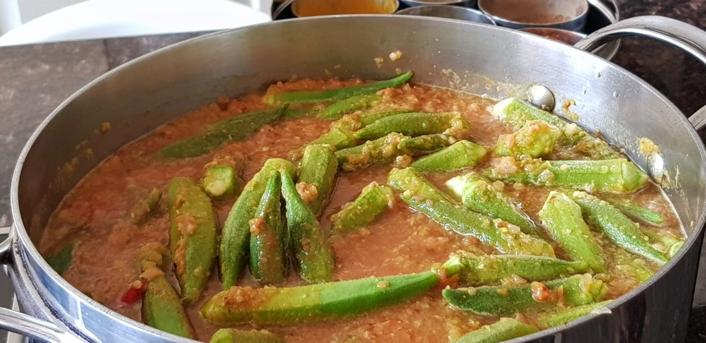 thumbnail_Adding Okra and water.jpg