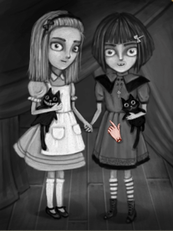 Fran and Alice (of Wonderland infamy)