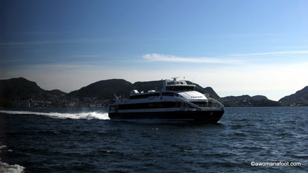 When in Norway you absolutely MUST take a ferry ride! Don't believe me? Just look at those photos! awomanafoot.com