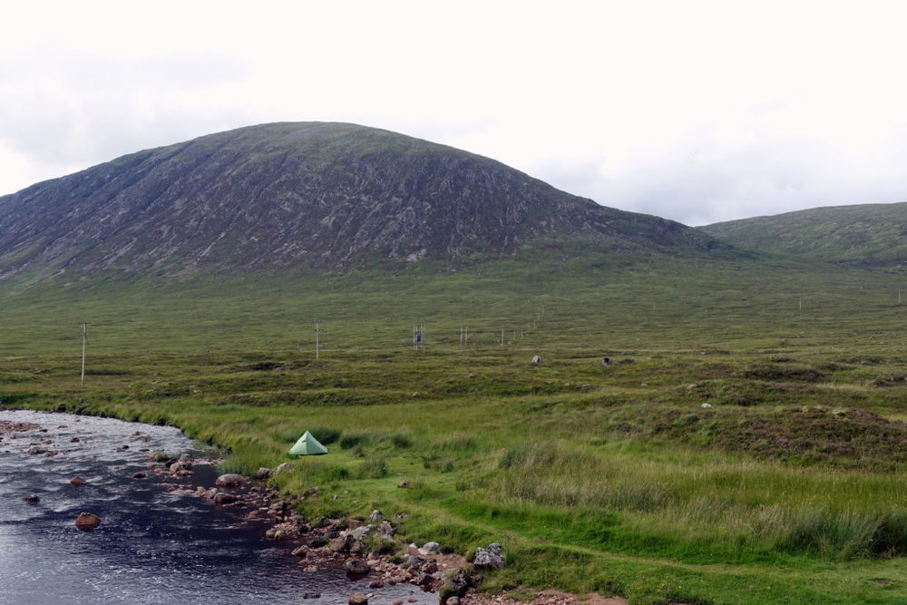 Hiking solo the West Highland Way in Scotland. Part3; awomanafoot.com