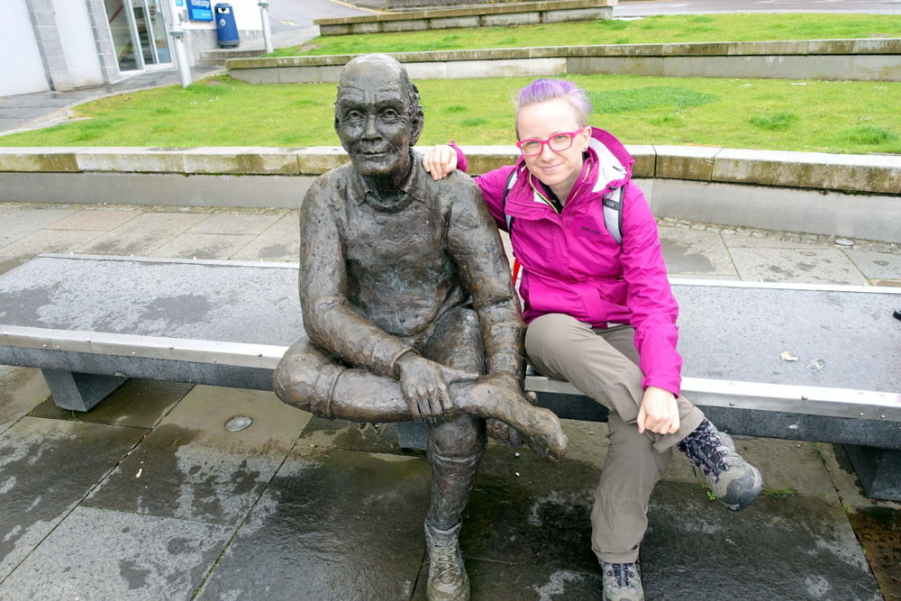 Solo hike of the West Highland Way completed in Fort William. awomanafoot.com