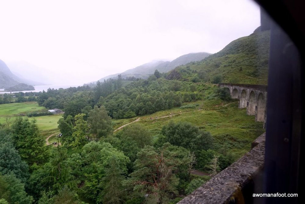 When Cape Wrath Trail fell through, my Harry Potter fangirling nature was satisfied anyway. From Fort William to Glenfinnan through iconic viaducts, rain and bogs.