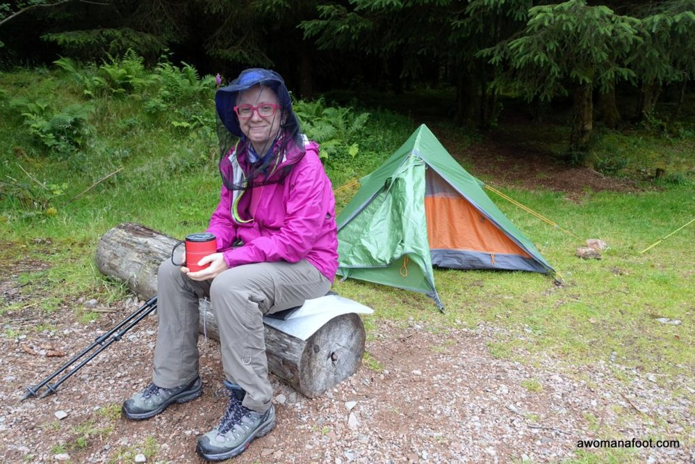 Vango Blade 200 review: great budget tent for solo backpacking and hiking. awomanafoot.com