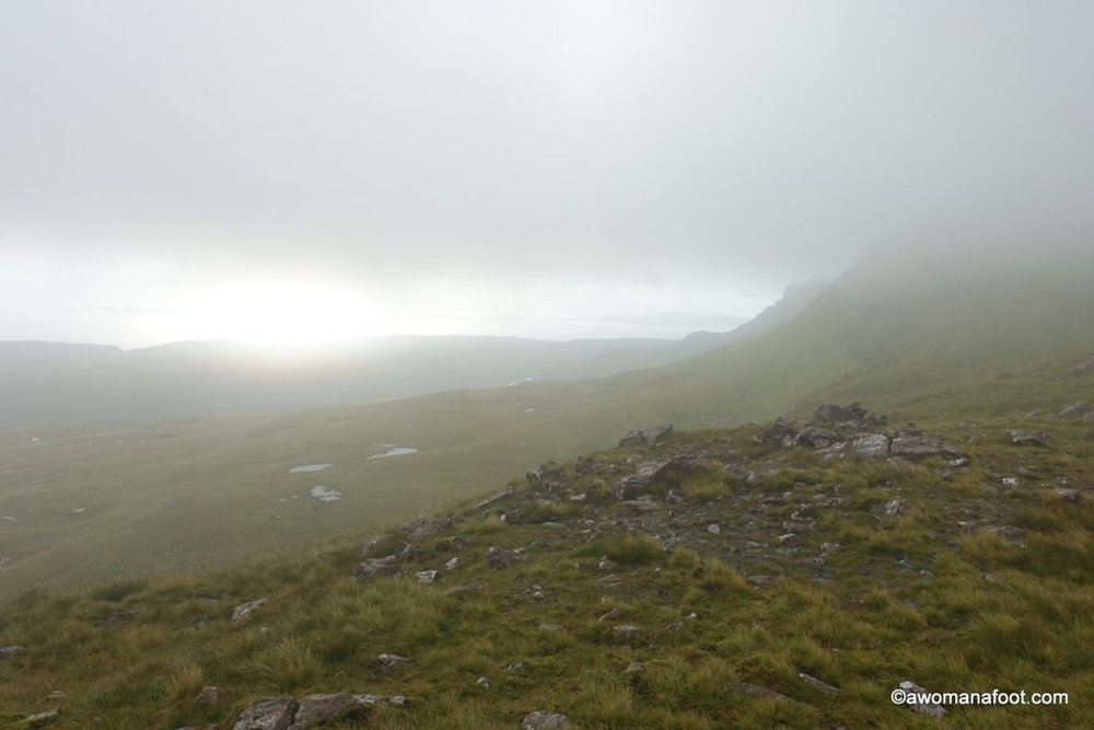Hiking the Isle of Skye's Trotternish Ridge - not for the faint of heart! awomanafoot.com