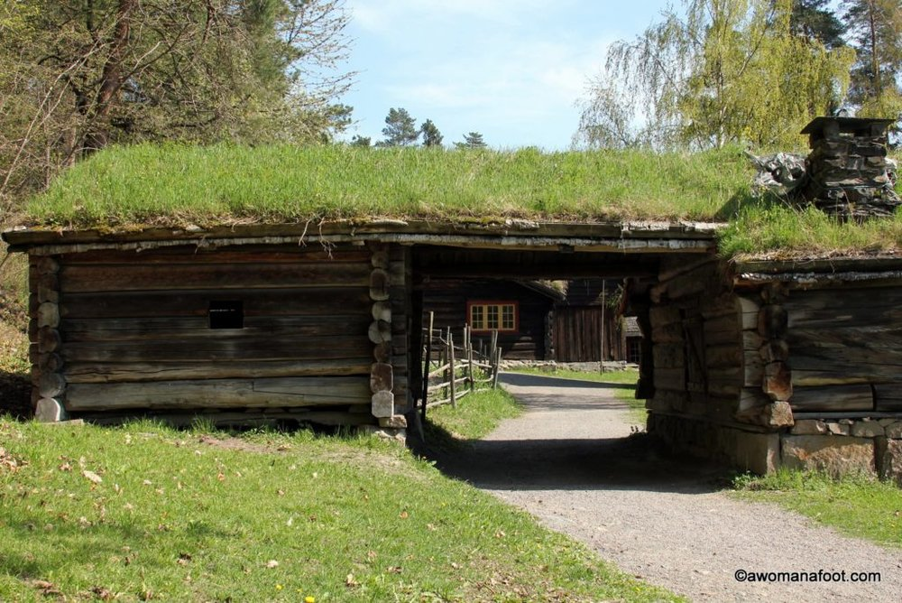 Norsk Folkemuseum - a picturesque open-air museum you must see when visiting Oslo! awomanafoot.com