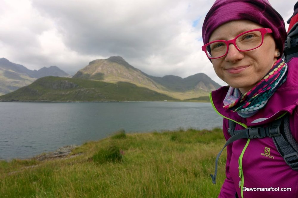 Discover the raw beauty of Isle of Skye's southern parts. Awomanafoot.com