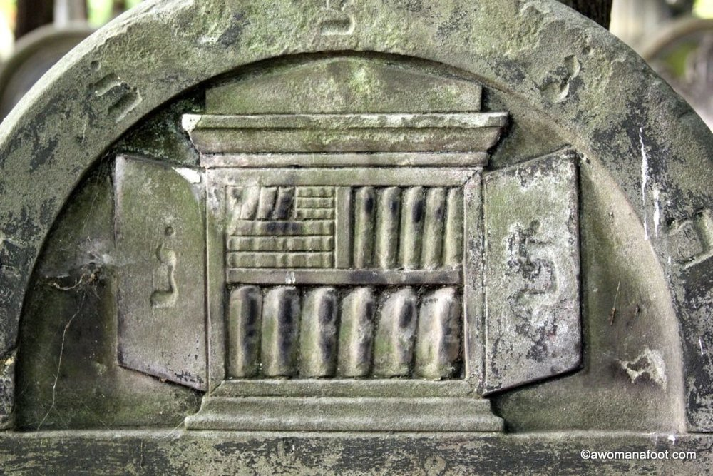 Discover the History and Symbolism of the Okopowa Jewish Cemetery in Warsaw. awomanafoot.com