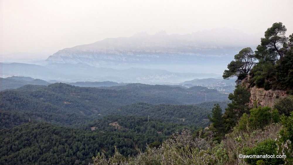 A wonderful destination for solo hikers and nature lovers in Catalonia, Spain: Parc Natural de Sant Llorenç del Munt i l'Obac. awomanafoot.com