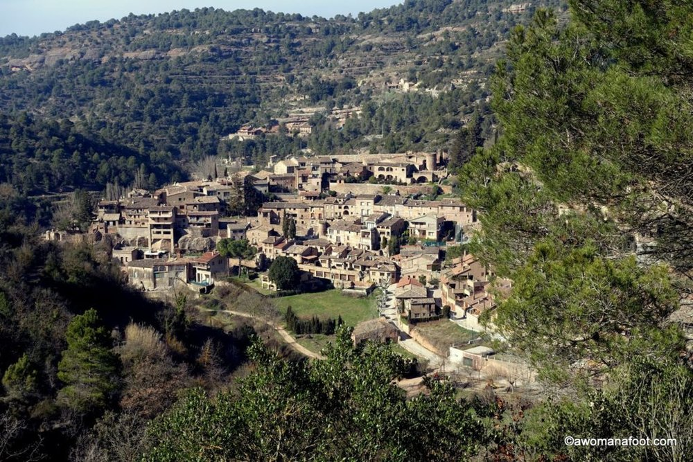 The Magnificent Mura: Hiking Through the Park Sant Llorenç del Munt and Wandering In the Medieval Town of Mura. awomanafoot.com