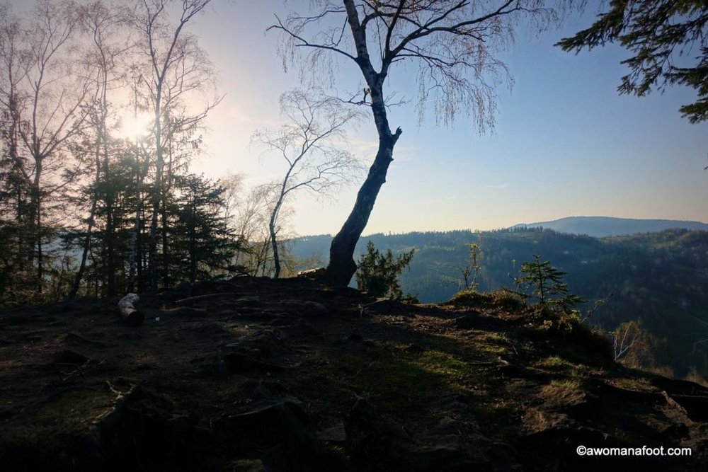 Check out one of the best day hikes Silesian Beskids have to offer - great views, challenging trails and cheap accommodation - don't miss it! Day Hike #3: Wisła Głębce - Stożek Wielki - Wisła Dziechcinka. Learn more about hiking in Poland @ Awomanafoot.com | women hikers | Beskid | Poland | hiking #trails | #Wisła | Carpathians | #Hiking in #Poland | #solo | Hiking trails in Europe | Europe off the beaten path | Active vacation destinations|