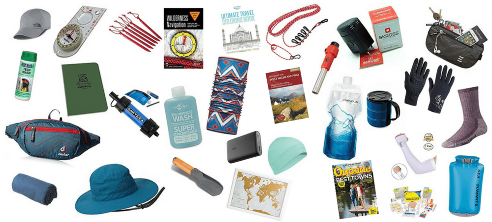 Are you looking for a budget gift for your Nature-loving friend? You are in the right place! Check those fantastic ideas for hikers, campers, and backpackers - all under $30! Only practical hiking & camping gear and gadgets - nothing to collect dust! Awomanafoot.com |#gift #GiftGuide #hiking #camping #budgetgifts #Outdoors #HikingGear #CampingGear #GiftsForHer #GiftsForHim