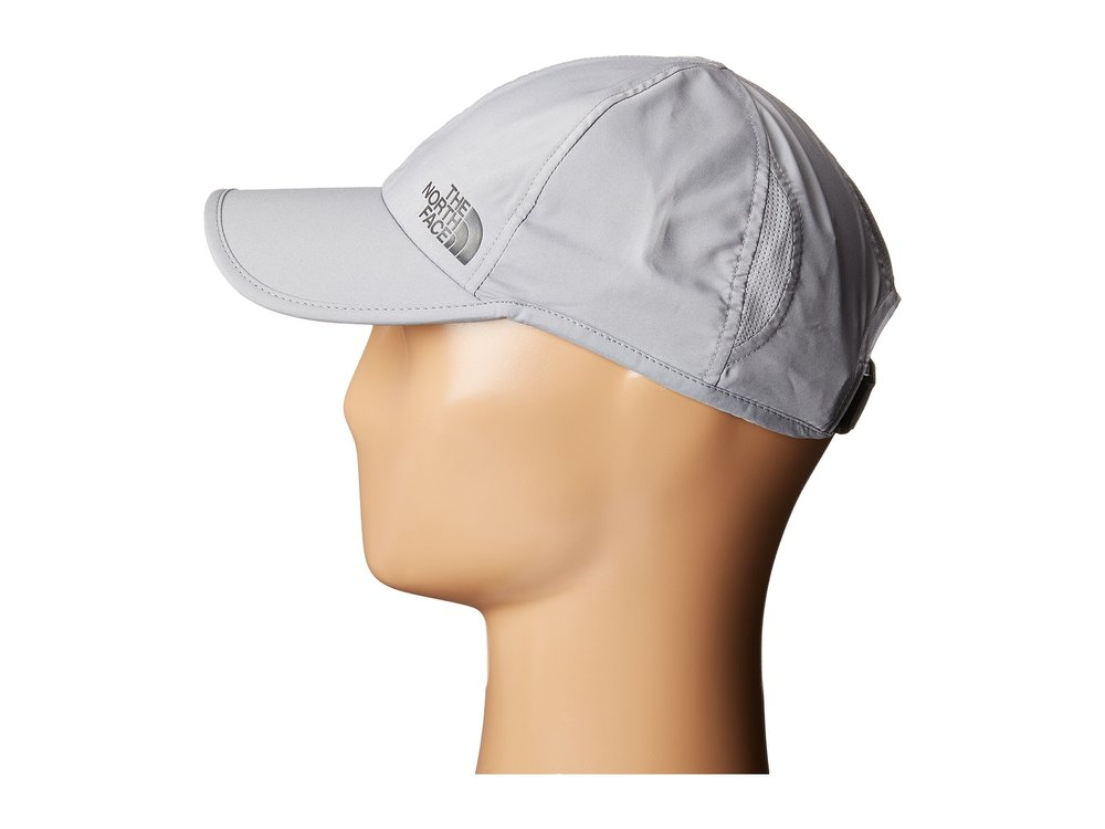 The North Face Breakaway Cap - A light-weight and quick drying cap that's perfect for any hike or outdoor adventure. It's a great protection for hot days but also on a rainy hike to keep your face dry.