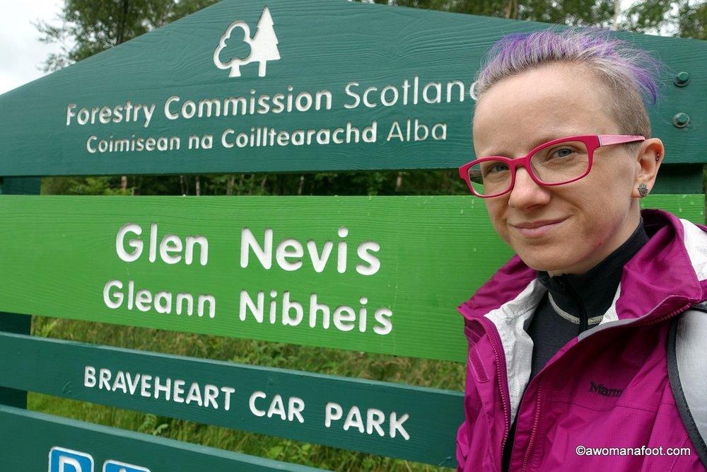 hiking solo West Highland Way