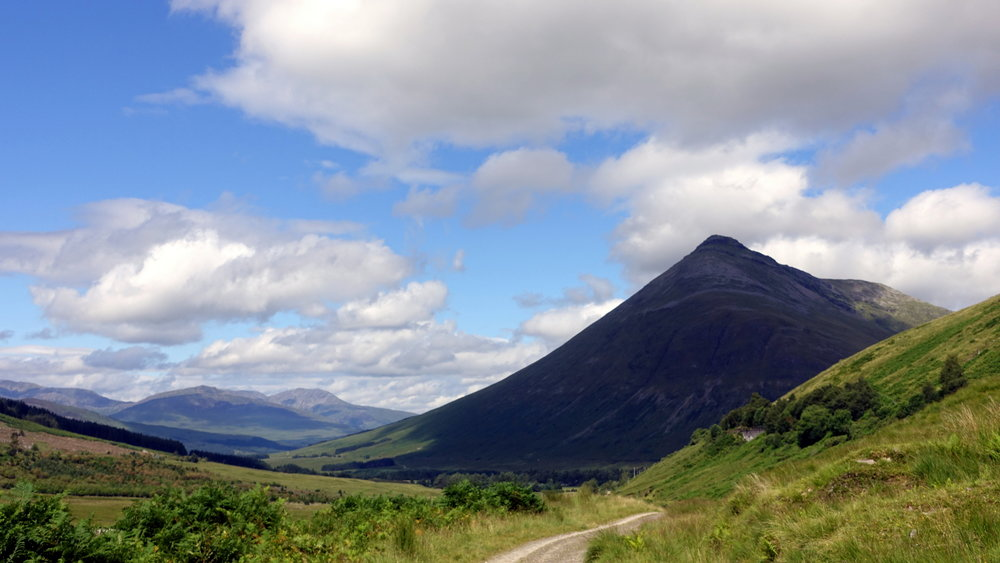 where to camp west highland way camping scotland hiking
