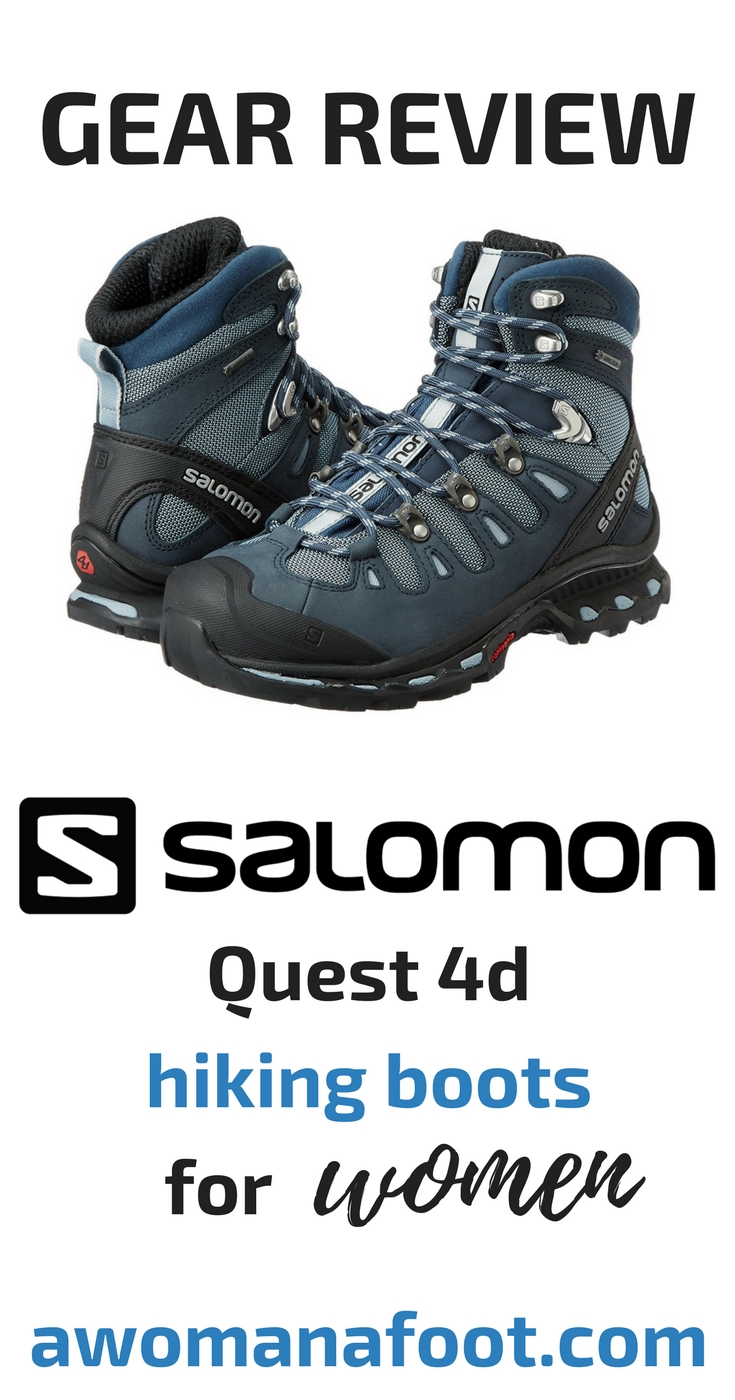 Unbiased & unsponsored gear reviews! Check what I think about the Salomon Quest 4d hiking boots for women! Are they the boots for you? awomanafoot.com | #hiking #hikinggear #gearreview #femaleboots #hikingboots #Salomon | What hiking boots should I buy? How to choose the right hiking boots? | What is the quality of Salomon hiking boots?