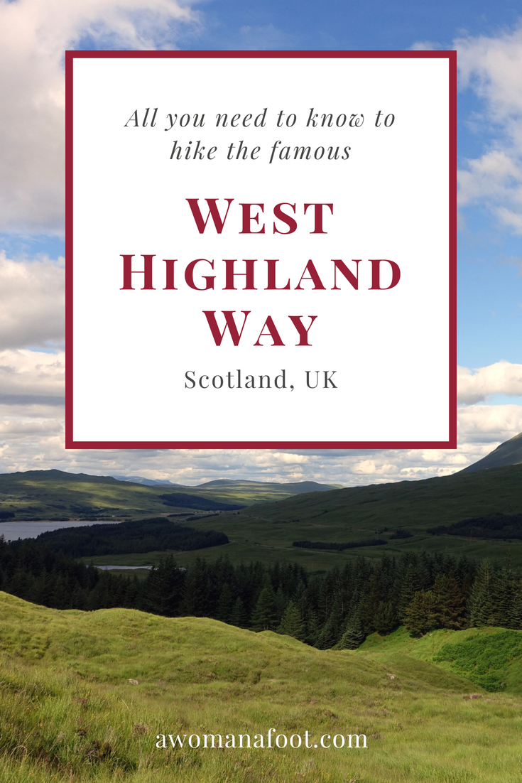 Planning on hiking the West Highland Way? Read this handy guide for tips to make your Scottish adventure best possible! #hiking #WestHighlandWay #WHW #Scotland How to hike the West Highland Way   Best hikes in Scotland   Best hiking trails in Europe   Best hiking trails for female solo hikers  