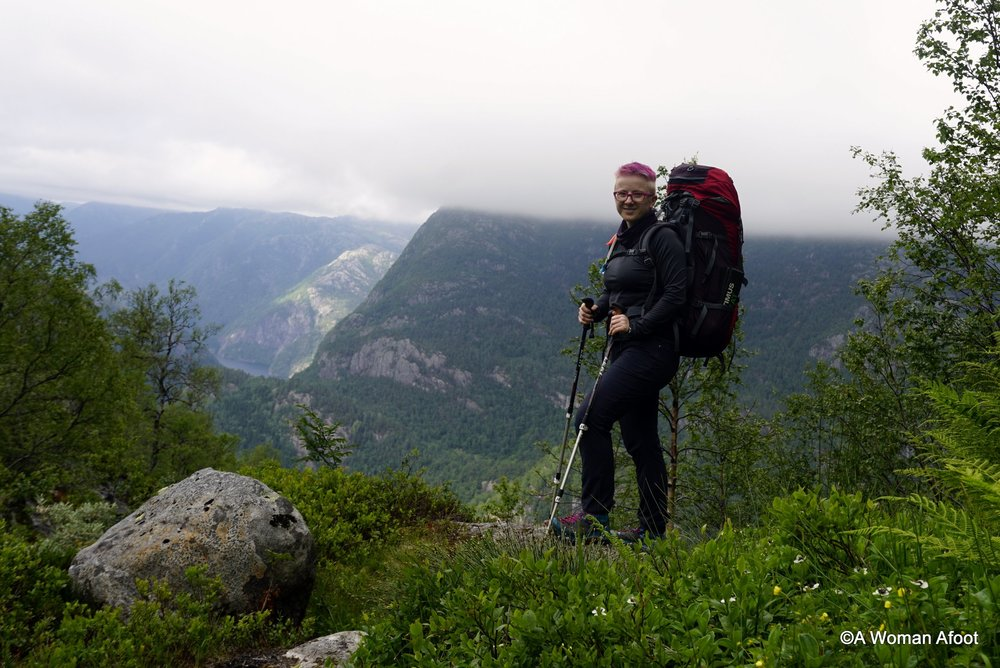 Looking for a solo hiking destination near Bergen? Check out this beautiful trail from Dale to Høgabu. 18 km through stunning mountains - learn more at awomanafoot.com | Hiking solo in Norway | Wild Camping Solo in Norway | Trail report | Women solo hikers | Scandinavia | Where to hike in Europe | #Bergen #hiking #camping #solo #Norway #trail #Dale #Fjord Looking for a solo hiking destination near Bergen? Check out this beautiful trail from Dale to Høgabu. 18 km through stunning mountains - learn more at awomanafoot.com | Hiking solo in Norway | Wild Camping Solo in Norway | Trail report | Women solo hikers | Scandinavia | Where to hike in Europe | #Bergen #hiking #camping #solo #Norway #trail #Dale #Fjord