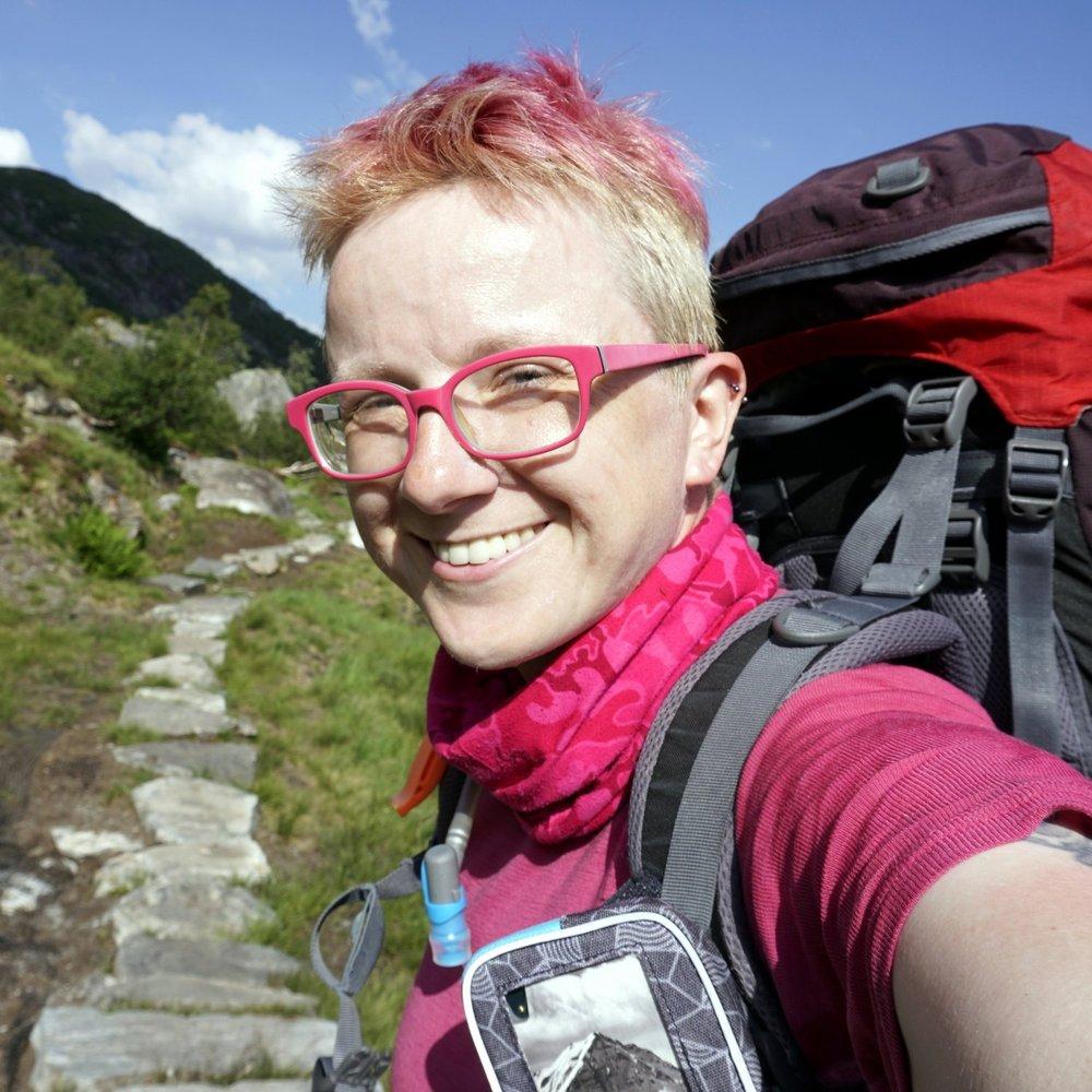 female solo hiking blog