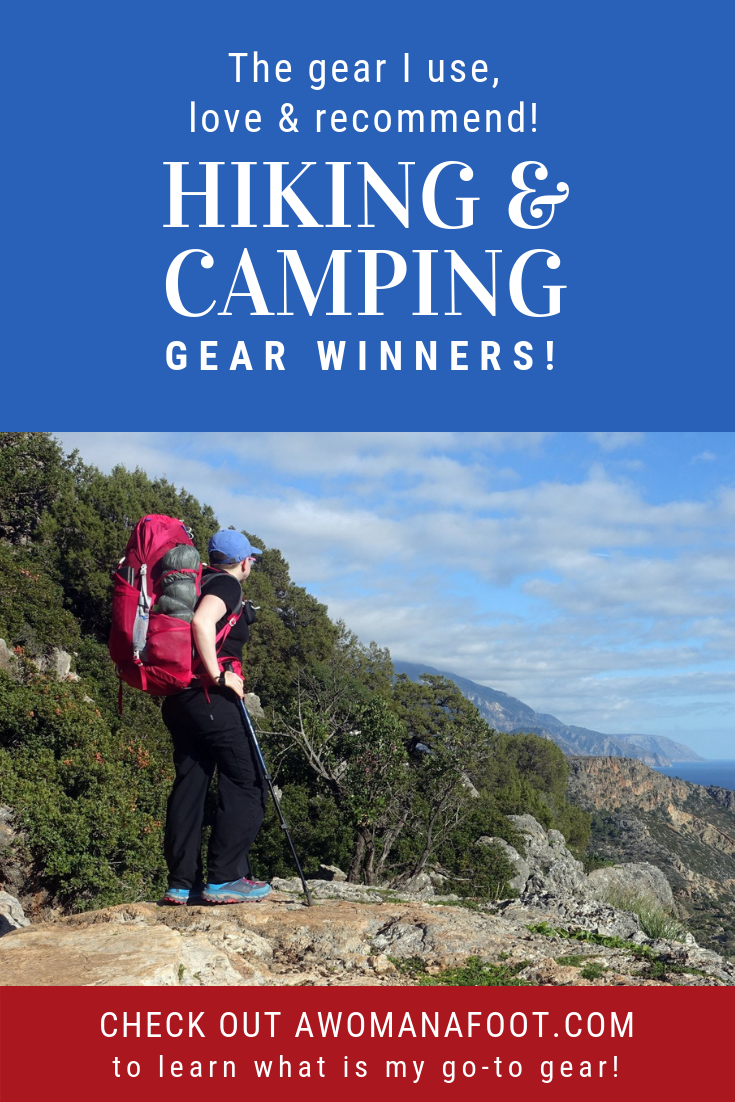 Check my personal go-to gear - see what I got rid off, what I love, and recommend to you - @awomanafoot.com   Hiking & Camping Gear   What gear to buy for a hiking trip   Best backpacking shelters   What backpack you need   Trekking must-haves   Recommended gear for hikers and campers   #hiking #camping #gear #backpacking #Adventure #Outdoors  