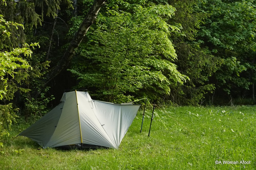 Tarptent Double Rainbow tent in-depth review. Is this the shelter for you? Read my review and compare to other tents @AWOMANAFOOT.COM | Backpacking shelters | Camping gear reviews | What tent should you buy? | Best shelters for hikers and trekkers | #Camping #Backpacking #Tarptent #DoubleRainbow #GearReview #Hiking #Solo