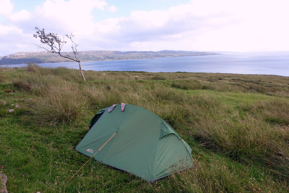 backpacking scotland accommodation isle of skye wild camping