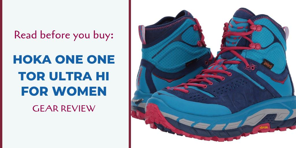 Hoka One One Tor Ultra Hi Hiking Boots