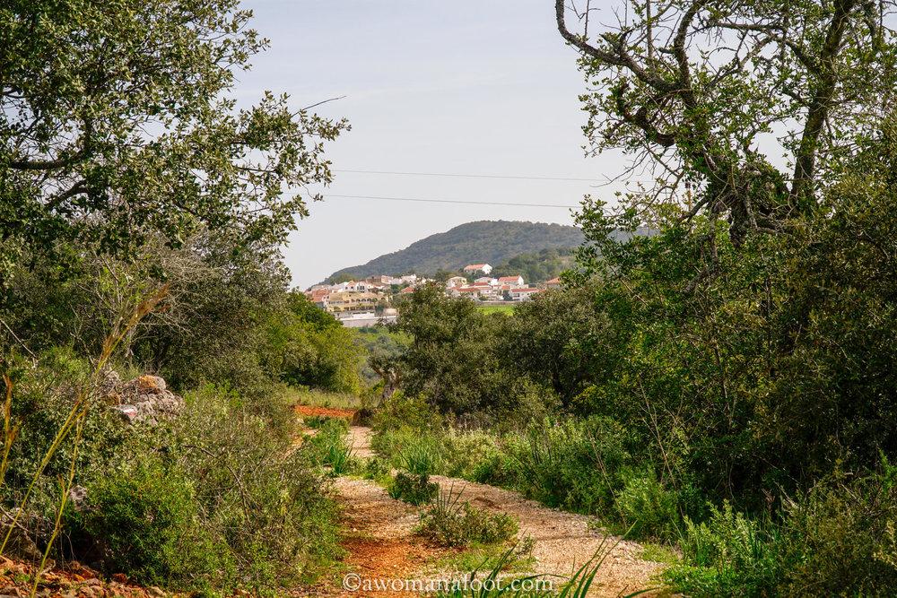 solo Via Algarviana Portugal hiking Barranco Salir Silves