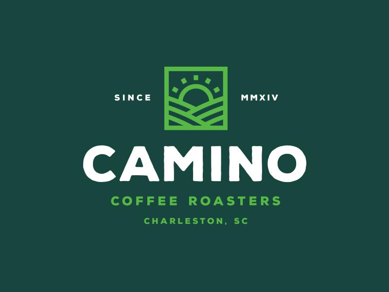 Logo lock-up for Camino Coffee Roasters