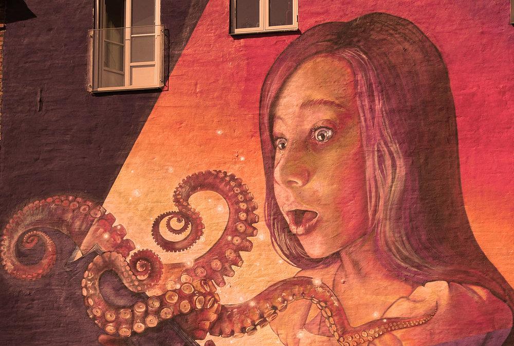 Manchmal ist ein Octopus da, wo du ihn nicht erwarten würdest