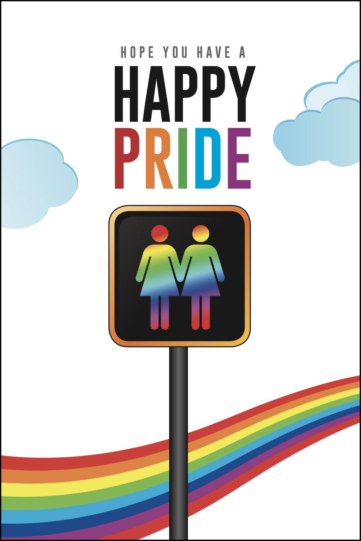 Lesbian Pride Greeting Card Kweer Cards