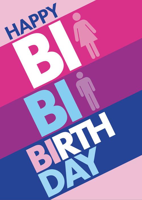 BI Birthday Greeting Card