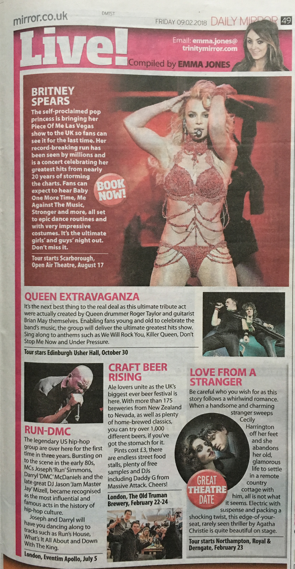 Daily Mirror - Craft Beer Rising Festival