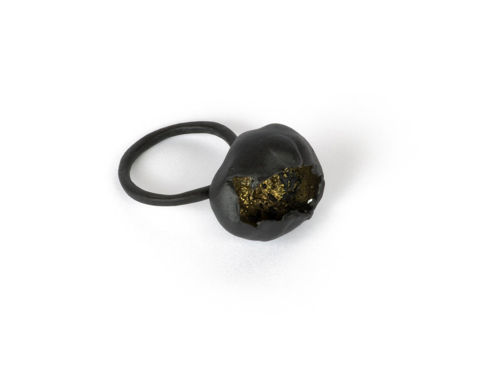 Large Color Aestivum Ring - Black - 1.jpg