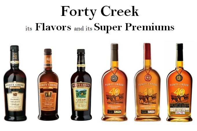 Forty Creek's Super Premium line