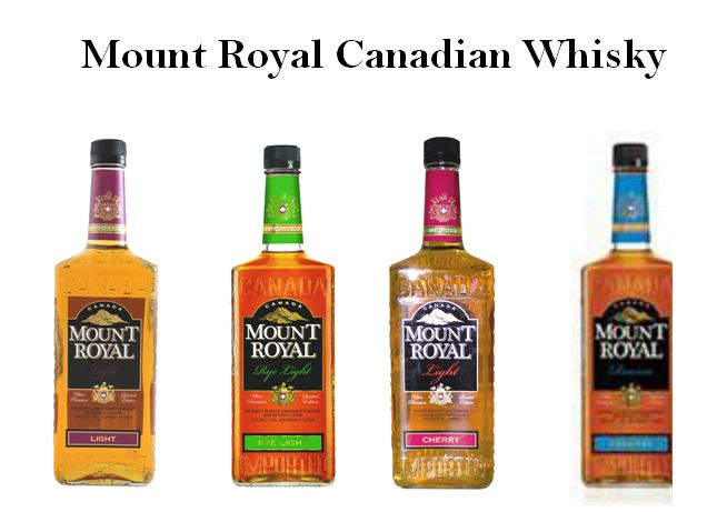 Mount Royal Light Canadian Whisky