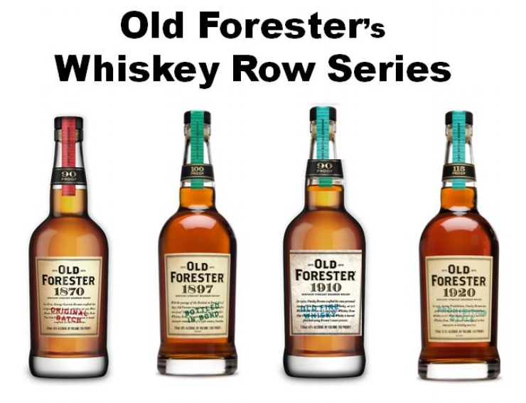 Old Forester's Whiskey Row Series