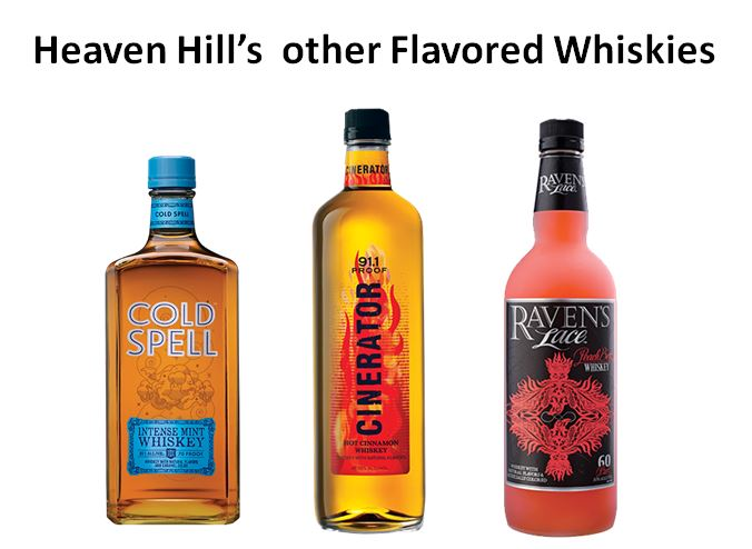 Heaven Hill's other Flavored Whiskies
