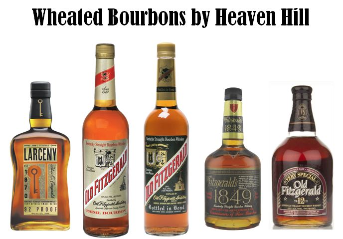 Heaven Hill's Wheated Bourbons
