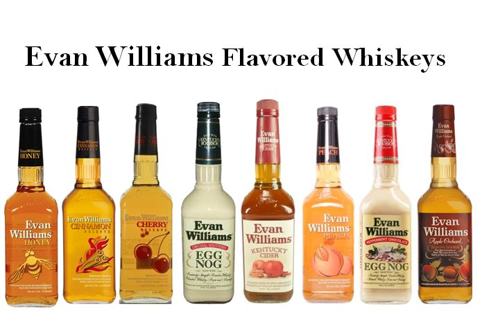 Evan Williams eight Flavored Whiskey