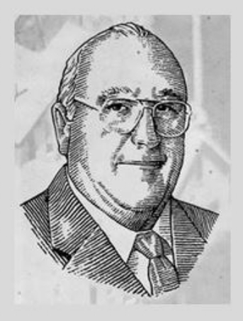 Sketch Photo of Booker Noe, provided by Jim Beam Brands, Co. web site