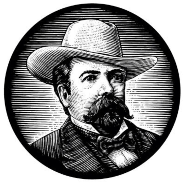 Sketch Photo of Jack Daniel, provided by Brown-Forman web site