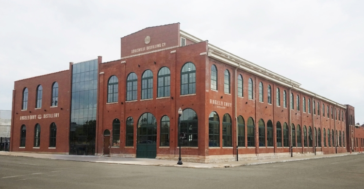 "Angel's Envy's   Louisville Distilling Company   on   ""Whiskey Row""   in Louisville opened in November 2016."