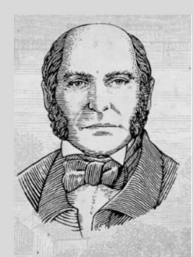 Sketch Photo of Jacob Beam, provided by Jim Beam Brands, Co. web site