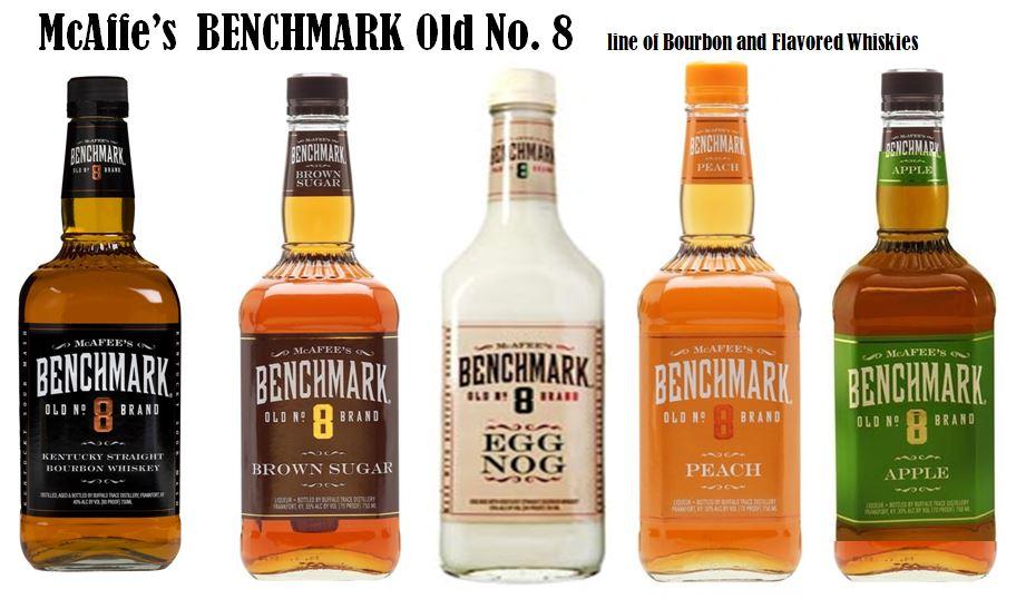 McAfee's Benchmark Line of Bourbon & Whiskies